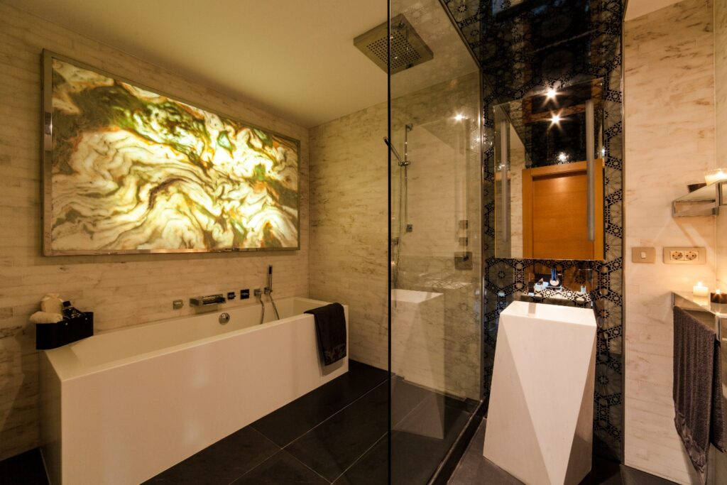 Le Meridien Hotel Bathroom